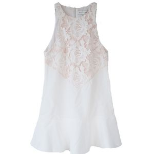 NWT Keepsake The Label Ivory Lace Mini Dress